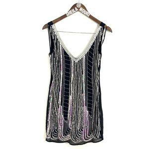 ASOS Maya Heavily Embellished Shift Dress